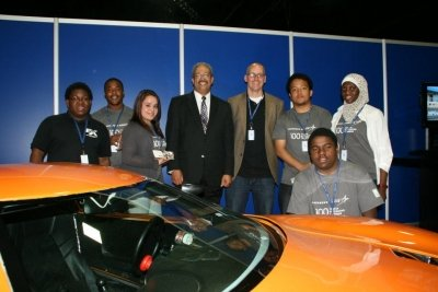 Congressman Fattah with EVX Team